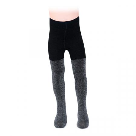 Ciorapi negri cu fir lame0