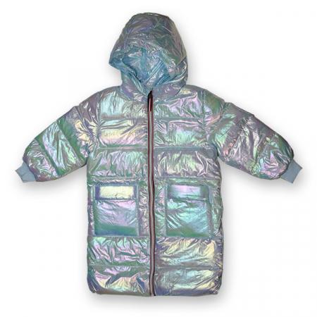 Jachetă Lungă cu Puf0