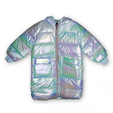 Jachetă Lungă cu Puf1