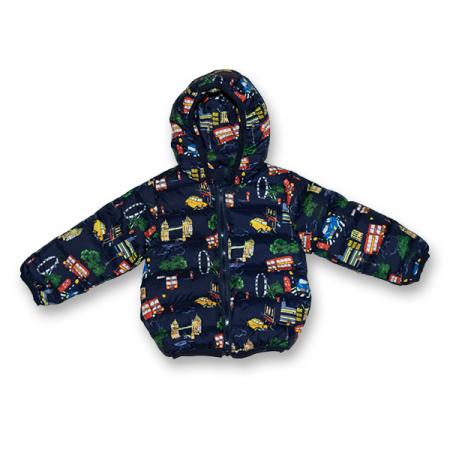 Jachetă Matlasată Groasă3