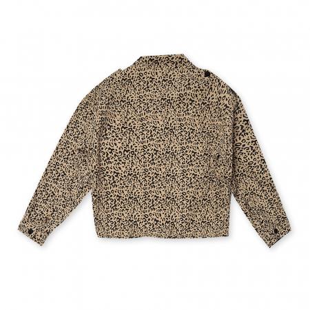 Jachetă Scurtă Cu Imprimeu Animal Print1