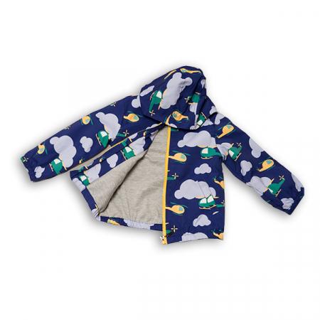 Jachetă subtire cu gluga6