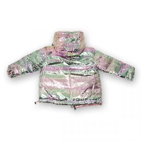 Jachetă Cu Puf  Reversibilă Cu Glugă4