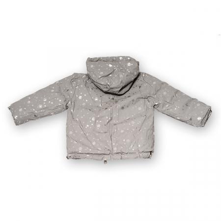 Jachetă Cu Puf  Reversibilă Cu Glugă3
