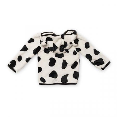 Jachetă fleece cu gluga5