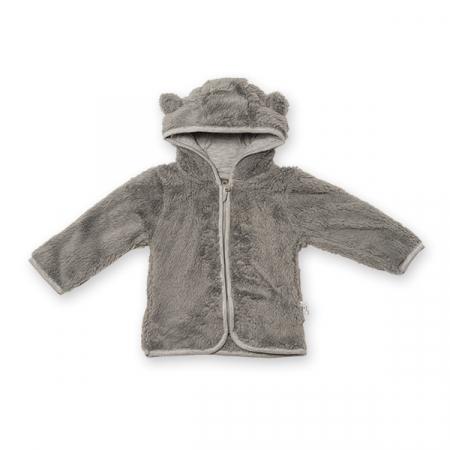 Jachetă fleece cu gluga [0]