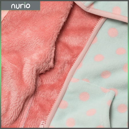 Jachetă groasa fleece cu gluga2