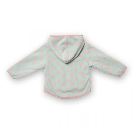 Jachetă groasa fleece cu gluga1