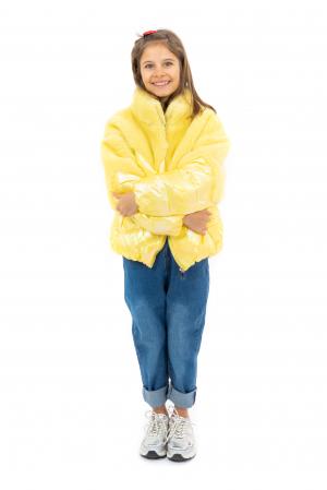 Jachetă Lucioasă cu Puf [0]