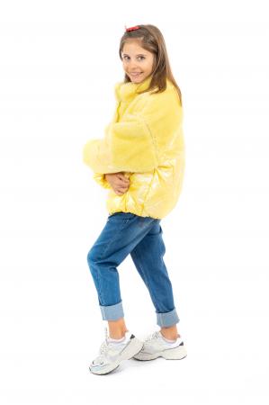 Jachetă Lucioasă cu Puf [1]