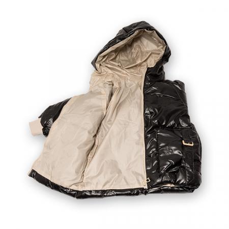 Jachetă Matlasată Cu Glugă2
