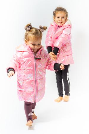 Jachetă Matlasată Cu Glugă0