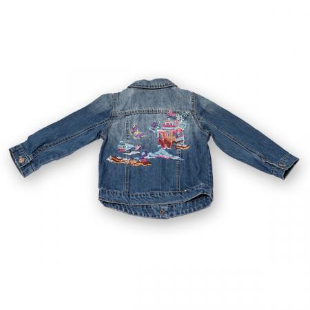 Jachetă Scurtă Din Denim1