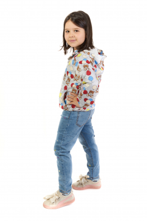 Jachetă subtire cu gluga [1]