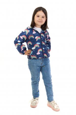 Jachetă subtire cu gluga [0]