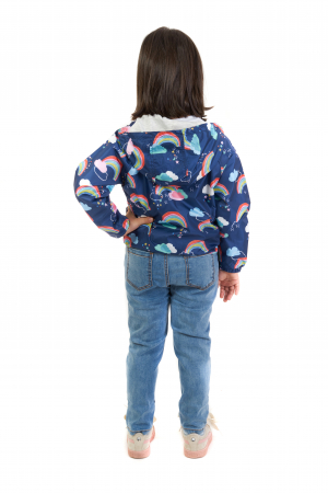 Jachetă subtire cu gluga [2]