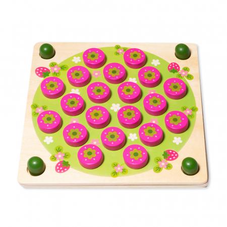 Joc din lemn  de memorie - Strawberry Memory Chess2