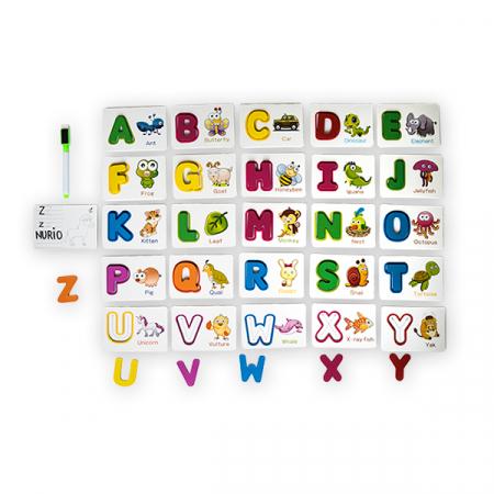 Joc din lemn cu carduri si litere in engleza0