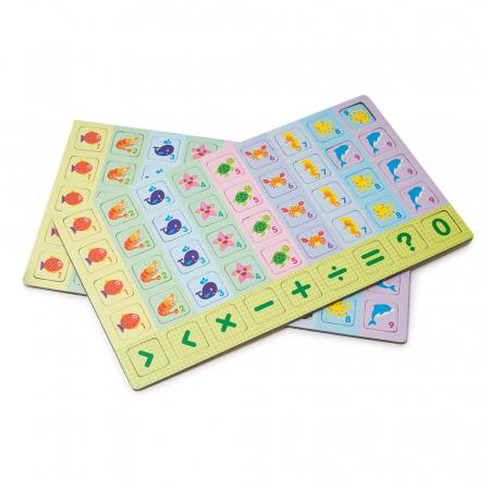 Joc multifunctional 2 in 1 din lemn - sudoku [3]