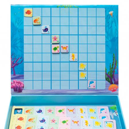 Joc multifunctional 2 in 1 din lemn - sudoku [1]