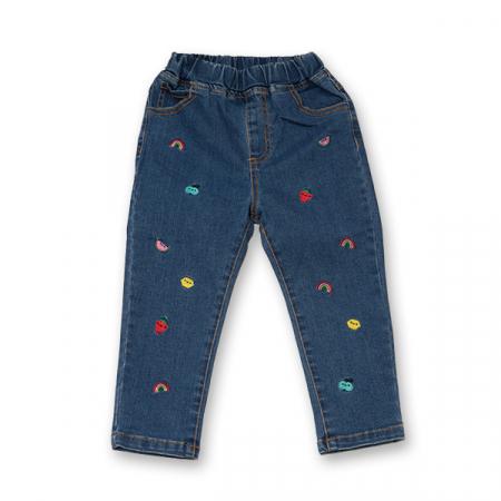 Pantalon din Denim [0]