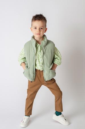Pantalon cu bretele8