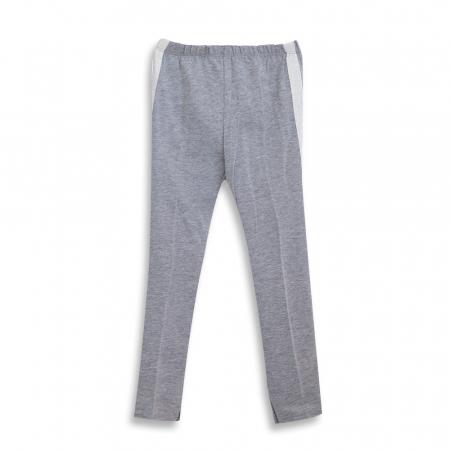 Pantalon tip legging cu dungi contrastante [5]