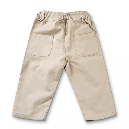 Pantaloni in bej cu snur baieti4