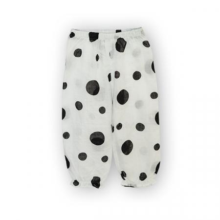 Pantaloni jogger cu buline1