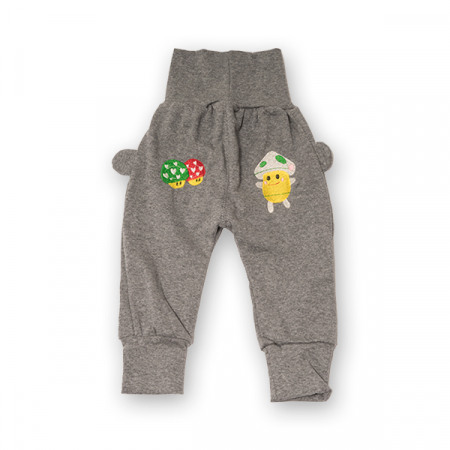 Pantaloni jogger din bumbac [0]