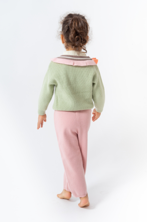 Pantaloni jogger din tricot3