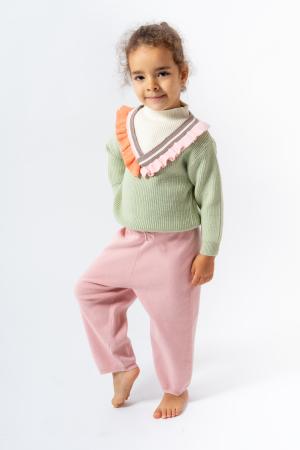 Pantaloni jogger din tricot2