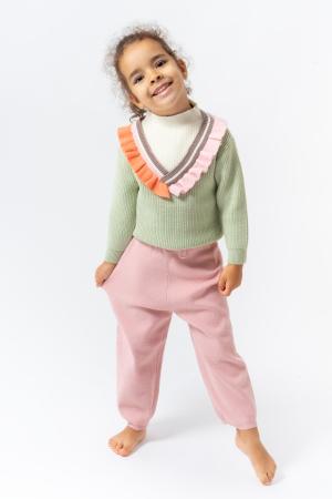 Pantaloni jogger din tricot0