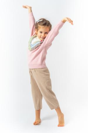 Pantaloni jogger din tricot5