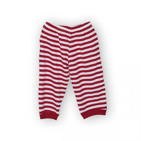 Pantaloni jogger trei sferturi cu dungi1