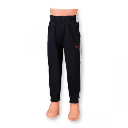 Pantaloni sport cu doua dungi laterale5