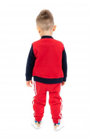 Pantaloni sport cu doua dungi laterale2