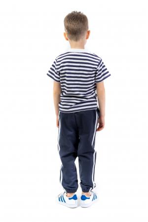 Pantaloni sport cu doua dungi laterale3
