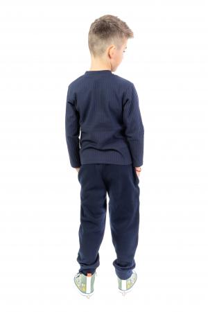 Pantaloni sport cu dunga laterala4