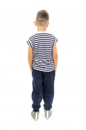 Pantaloni sport cu dunga laterala5