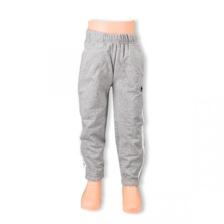 Pantaloni sport cu doua dungi laterale0