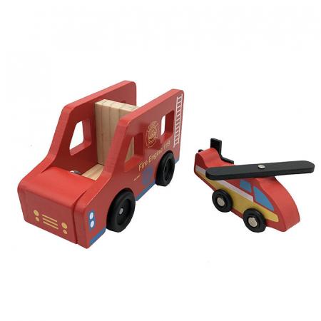 Statie de pompieri cu accesorii - jucarie de rol3
