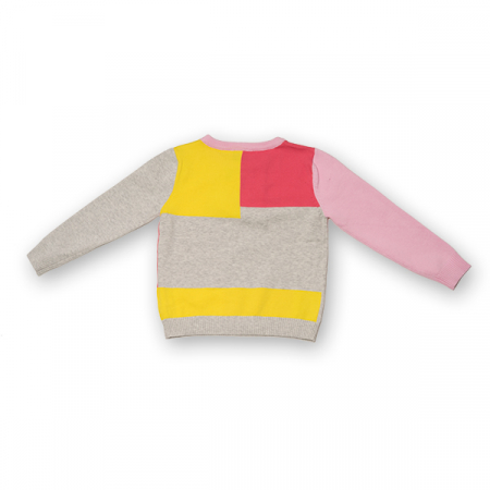 Pulover din Tricot Colorat [1]
