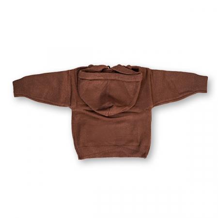 Pulover Simplu cu Glugă [3]