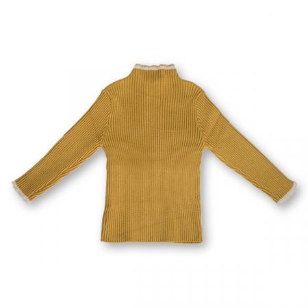 Pulover Simplu din Tricot cu Blăniță3
