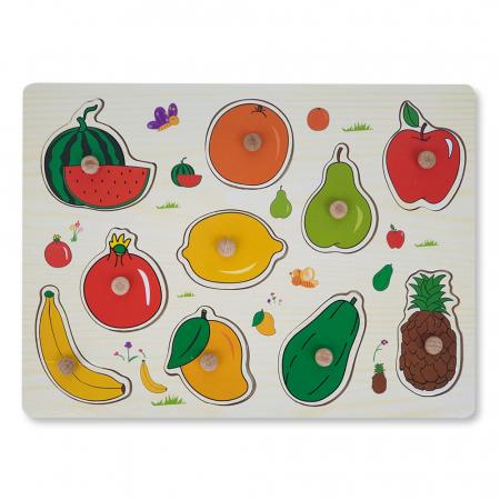 Puzzle din lemn cu fructe [1]