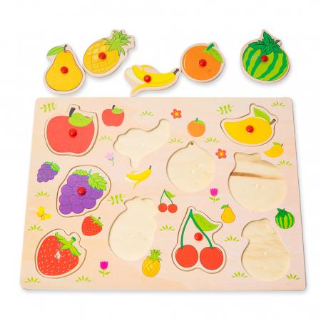 Puzzle din lemn cu fructe3