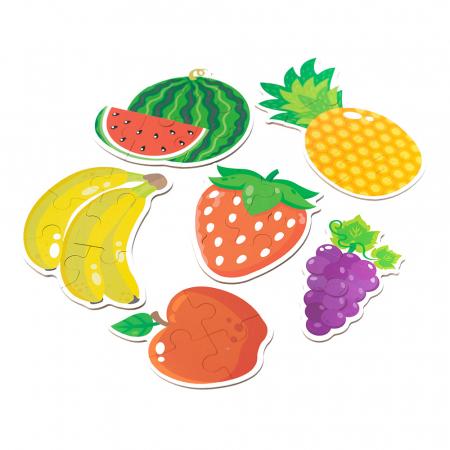 Puzzle din lemn in cutie - fructe [1]