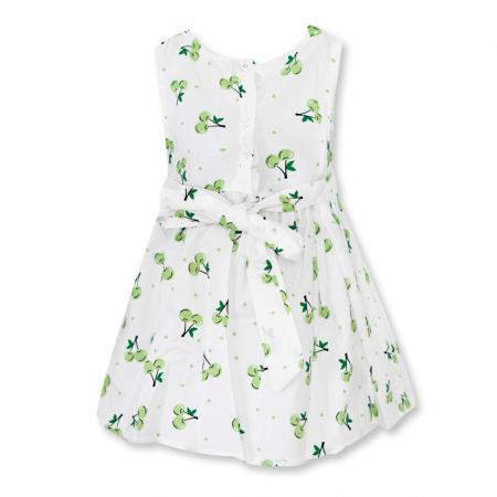 Rochie cu imprimeu cirese verzi [1]