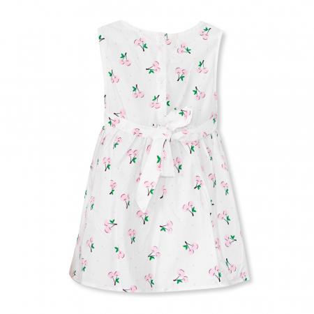 Rochie cu imprimeu cirese1